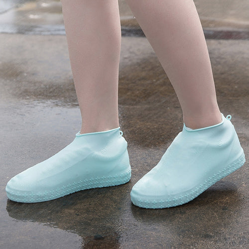 Reusable Non-slip Rain Shoes Covers Winter Waterproof Silicone Shoe Cover Accessories Dustproof Rain Cover Shoes Protectors