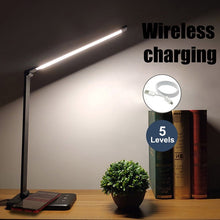 Load image into Gallery viewer, LED Table Desk Lamp  Wireless Charging  Multi-Function Reading Light