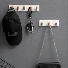 Load image into Gallery viewer, Nordic Simple Style Hanger Hooks Living Room Closet Keys Hanger Wall Hook