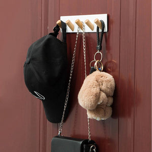Nordic Simple Style Hanger Hooks Living Room Closet Keys Hanger Wall Hook