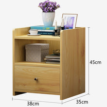 Load image into Gallery viewer, Modern bedroom bedside small cabinet
