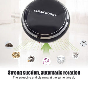 Mini Vacuum Cleaning Robot With 150ml Dust Box Household Floor Carpets Auto Dust