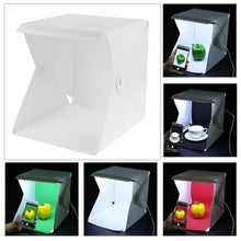 Load image into Gallery viewer, Mini Folding Lightbox Photography Studio LED Light Room