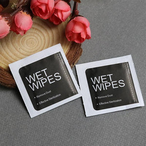 20pcs 2020 Alcohol Wet Wipes Personal Disinfection Portable Alcohol Swabs Pads Wipes Antiseptic Cleanser Cleaning Sterilization