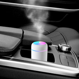 Mini Ultrasonic Air Humidifier Romantic Soft Light USB Essential Oil Diffuser Car Purifier Aroma Anion Mist Maker Gift