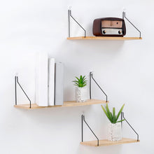 Load image into Gallery viewer, Nordic Style Scandinavian 1PC Metal Wall Shelf Wall Decor Shelf Kids Room Decoration Organizer Storage Holders
