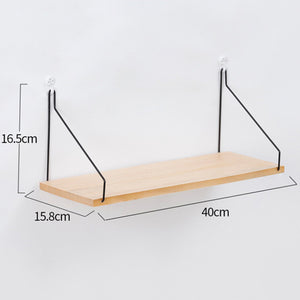 Nordic Style Scandinavian 1PC Metal Wall Shelf Wall Decor Shelf Kids Room Decoration Organizer Storage Holders