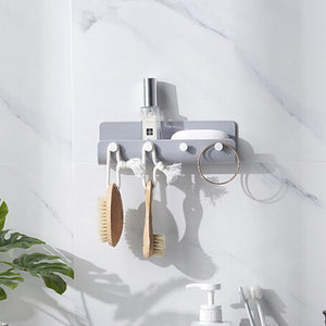 Creative Kitchen Bathroom Hanger Hook Modern Home Adhesize Hooks Key Holder Wall Hook Home Organizer