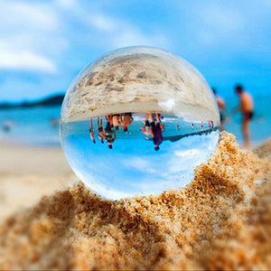 Clear Crystal ball Magic Sphere Glass Globe Photography Ball Crystal Craft Decoration