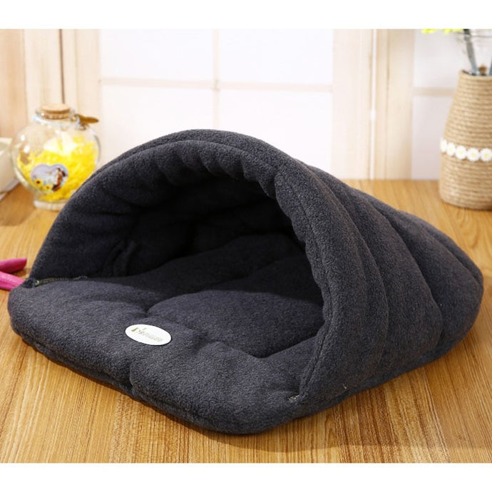 High Quality Pet Dog/Cat Bed Kennel Sofa Polar Fleece Material Warm Nest