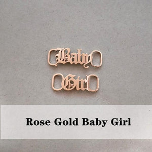 miss-celebrate Baby Girl Shoe Lace Charm