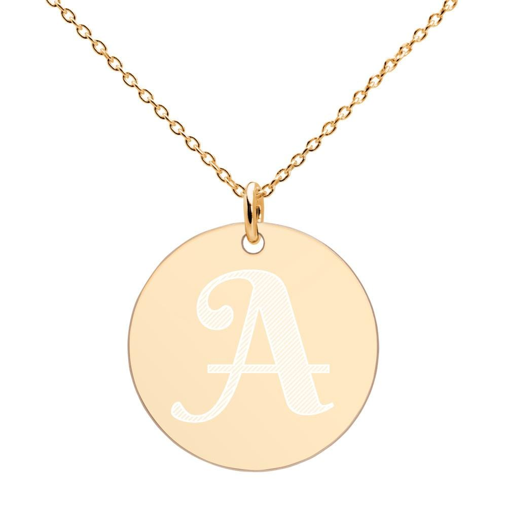 Miss Celebrate Gold Disc Necklace