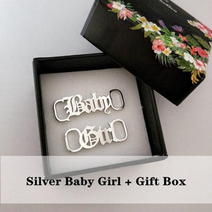 miss-celebrate United States / Baby Girl-S-BOX Baby Girl Shoe Lace Charm