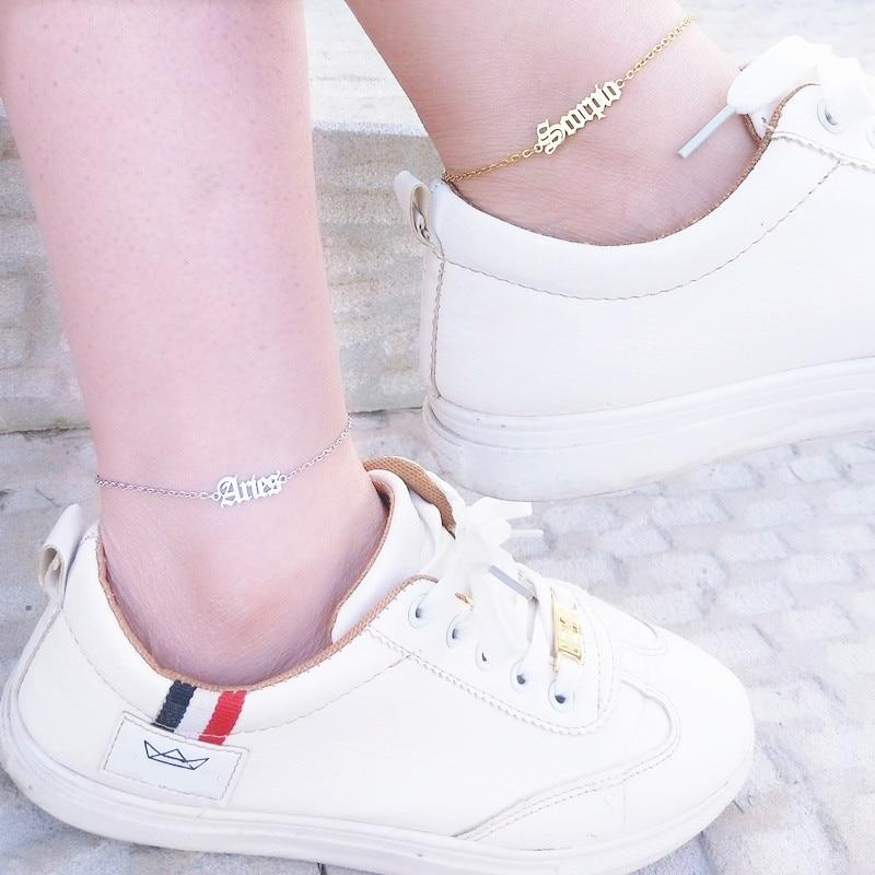 miss-celebrate Zodiac Ankle Bracelet