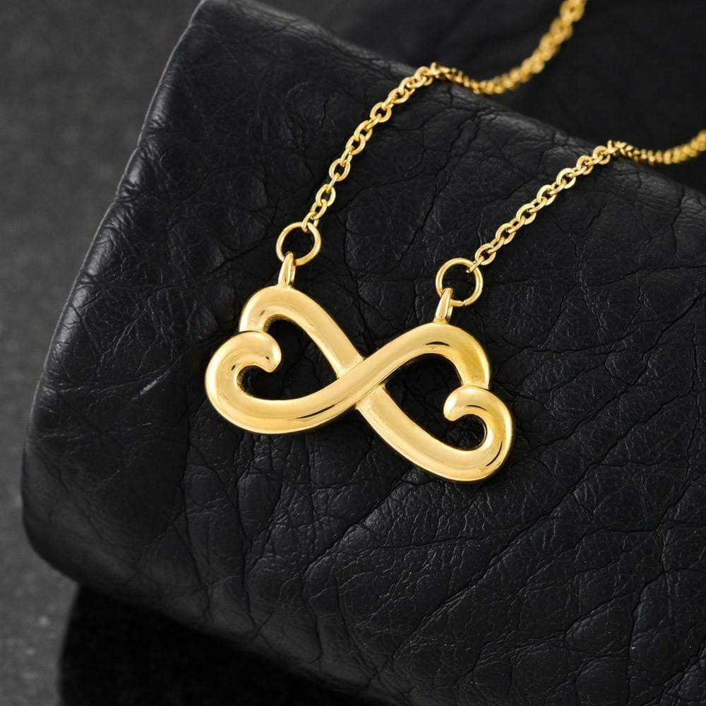 ShineOn Fulfillment Jewelry Infinity Heart Necklace