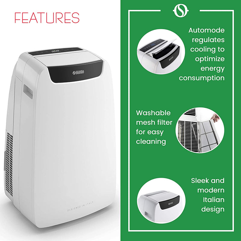 Olimpia Splendid DOLCECLIMA 1910 Air Pro 14k BTU Portable Air Conditioner