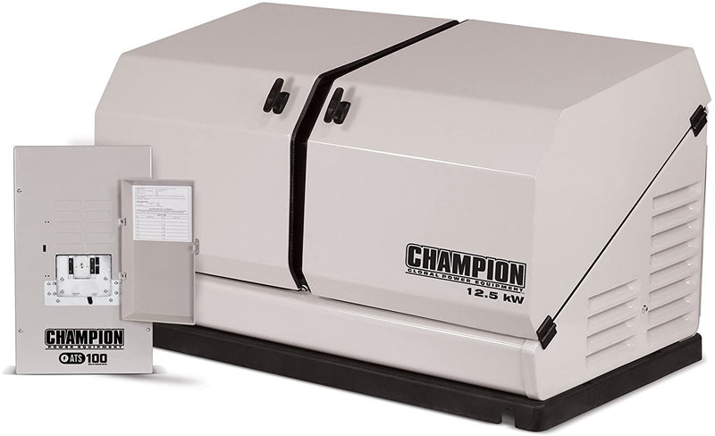 Champion (100179) 12.5-kW Home Standby Generator with 100-Amp Outdoor Switch
