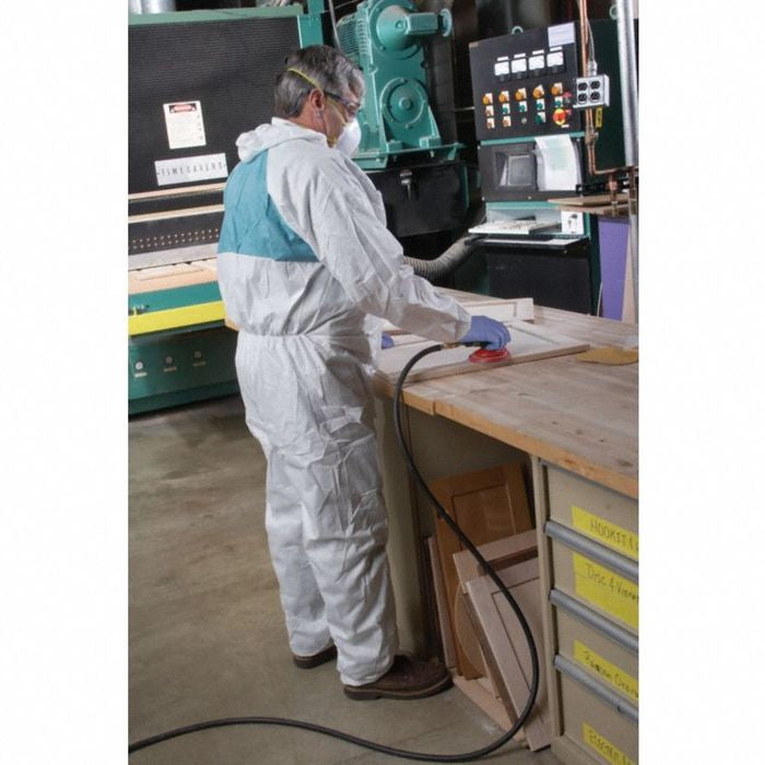 3M Disposable Protective Coverall Safety Suit, 3XL - 4520-BLK-3XL (Case of 25)