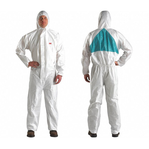 3M Disposable Protective Coverall Safety Suit, Large - 4520-BLK-L (Case of 25)