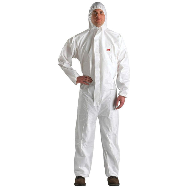 3M Disposable Protective Coverall Safety Suit, 3XL - 4510-BLK-3XL (Case of 25)