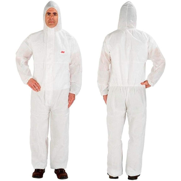 3M Disposable Protective Coverall, 4XL, White, 20/Case - 4515-4XL-WHITE