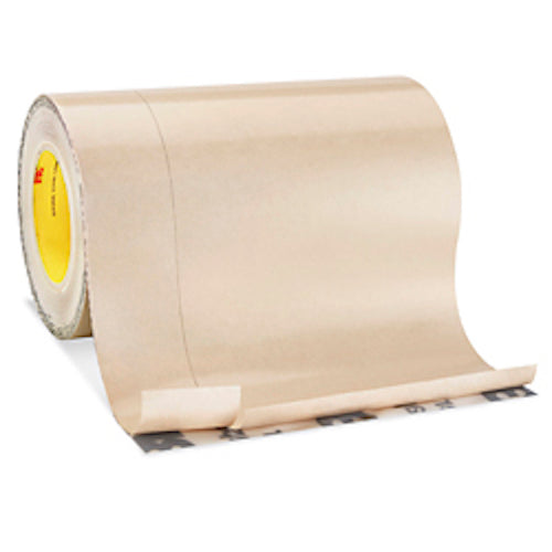 "3M 8067 12"" x 75' All Weather Flashing Tape, Tan, Slit Liner"