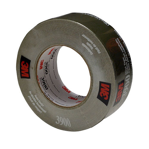 3M Duct Tape Olive, 48 mm x 54.8 m 7.7 Mil (Case of 24) - 3900
