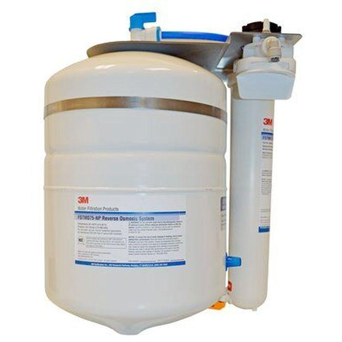 3M 5612306 Reverse Osmosis Water Filtration Systems for Steamers FSTM-075 w/o Permeate Pump, 75 gal/d