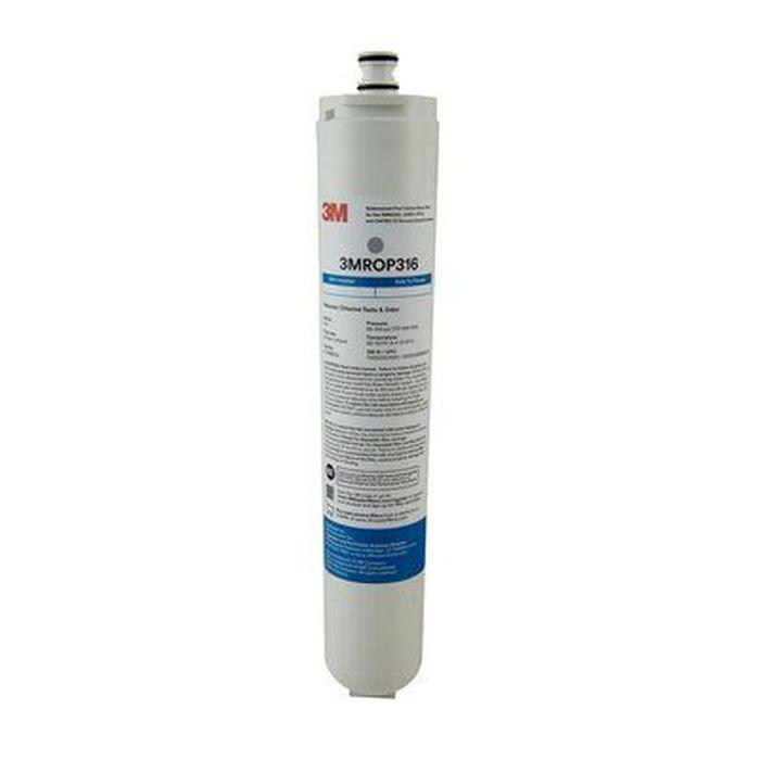 3M ROP316 Under Sink Reverse Osmosis Water Filter Cartridge, for RO301, 20/Case