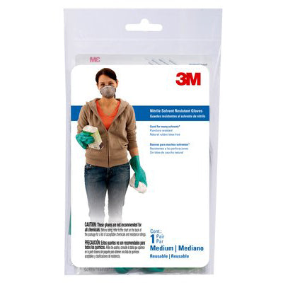 3M Tekk Protection Nitrile Gloves, Medium (Case of 10) - 90011