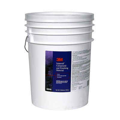 3M 06046 Marine Compound and Finishing Material, 5 Gallon