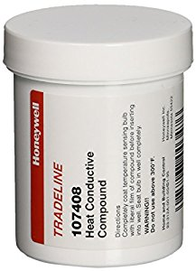 Honeywell 107408 Heat Conductive Compound, 4 Ounces