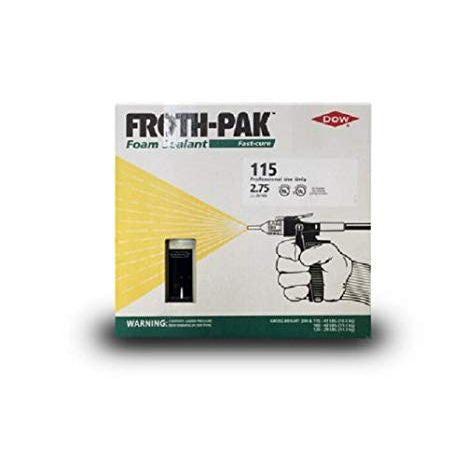 Dow Froth Pak 115 High Density Foam Sealant Specialty Kit (2.75 PCF)