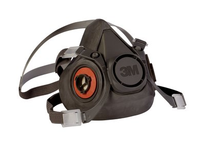 3M Reusable Half Face Mask Respirator, Large - 6300