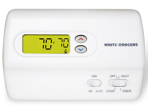 White-Rodgers 80 Series Heat Pump Thermostat - 1F89-211