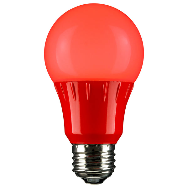 Sunlite LED A Type Colored 3W, Red - 80148-SU