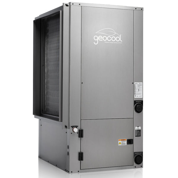 MRCOOL GeoCool Geothermal 36k BTU Vertical 2/Stage 1/Phase CuNi Coil Left Return w/ Desuperheater 60Hz 230V