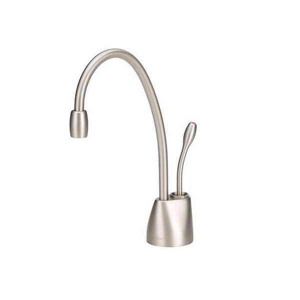 InSinkErator F-GN1100SN Indulge Contemporary Hot Only Faucet, Satin Nickel