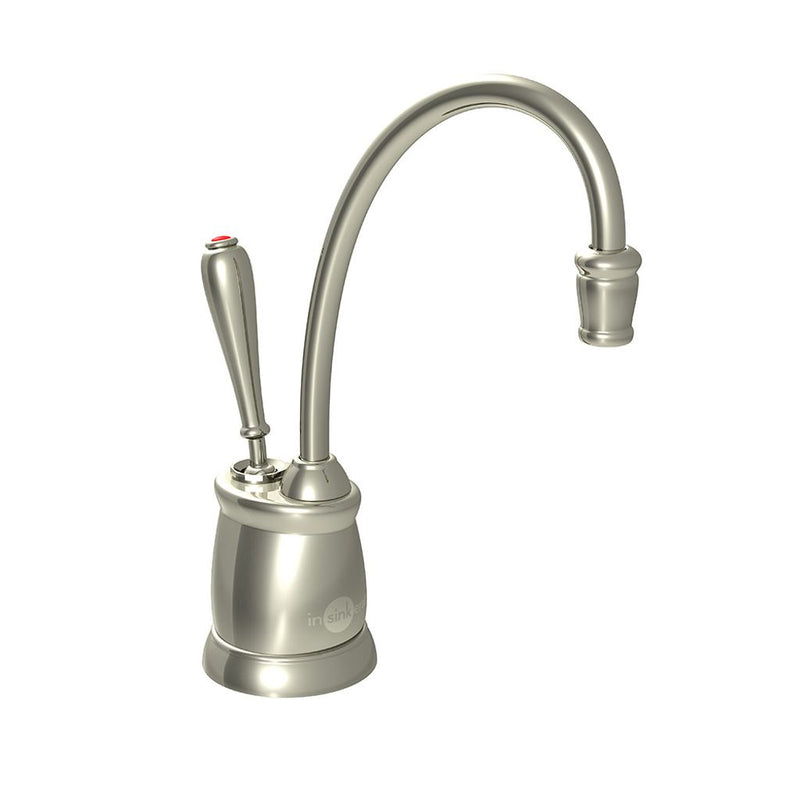 InSinkErator F-GN2215PN Indulge Tuscan Hot Only Faucet, Polished Nickel