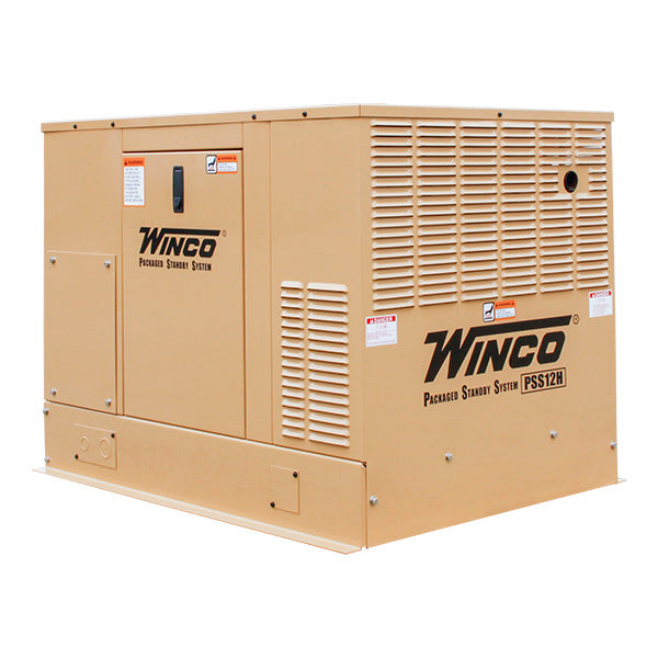 Winco PSS12H2W/F 12kW Automatic Emergency Standby Generator with Honda Engine