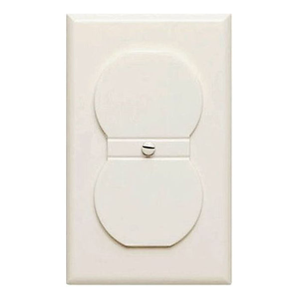 Air-Tite Single Outlet Cover, Ivory - AIR001