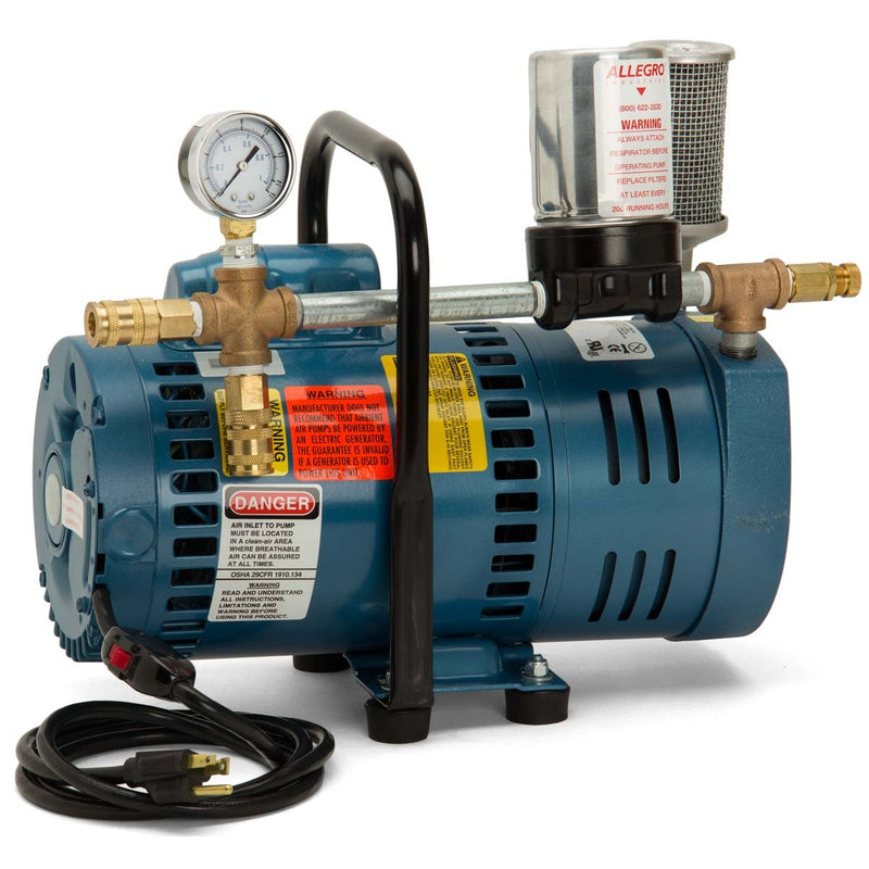 Allegro Ambient Air Pump, Model A-75 3/4 HP Motor - 9821