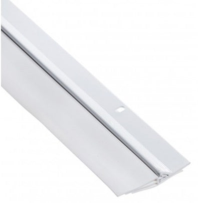 AM Conservation Triple Flange Door Sweep, White - TSV325L-W