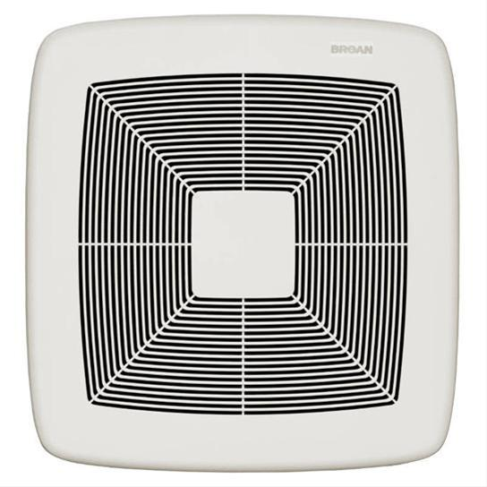 Broan NuTone ZB80 Ultra Green Series 30 CFM to 80 CFM Multi-Speed Bathroom Exhaust Fan w/ White Grille