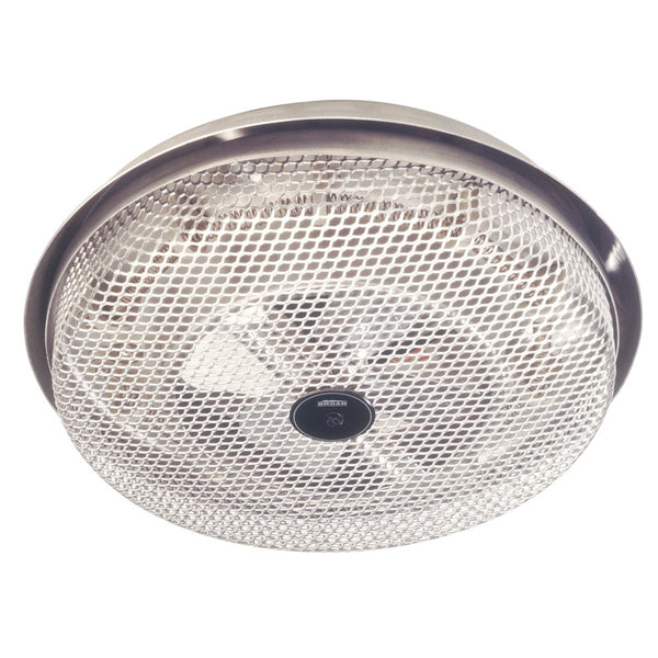 Broan NuTone 157 Fan-forced Ceiling Heater, Aluminum, Low-Profile , Enclosed Sheathed Element, 1250W, 120VAC.
