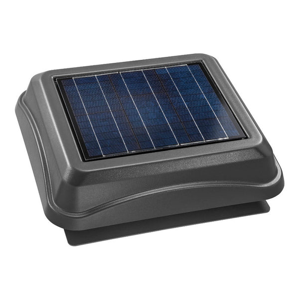 Broan NuTone 345SOWW Surface Mount, Solar Powered Attic Ventilator In Weathered Wood