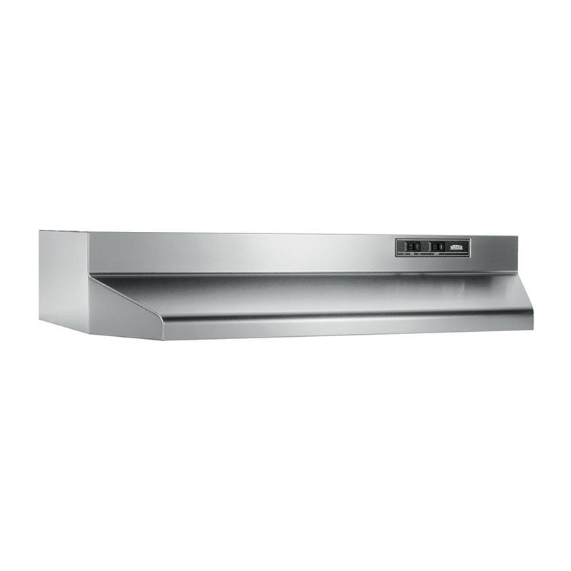 "Broan NuTone 402404 24"", Stainless Steel, Under-Cabinet Hood, 160 CFM"