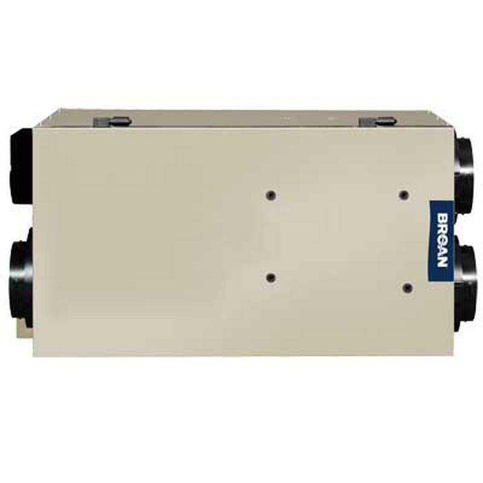 Broan NuTone HRV150FLS Advanced Series High Efficiency Heat Recovery Ventilator, 150 CFM At 0.4 In. W.G.