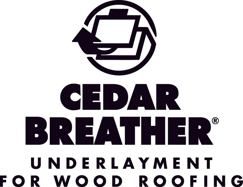 "Benjamin Obdyke Cedar Breather Ventilated Roofing Underlayment, 39"" x 61.5' Roll (200 Sq. Ft.)"