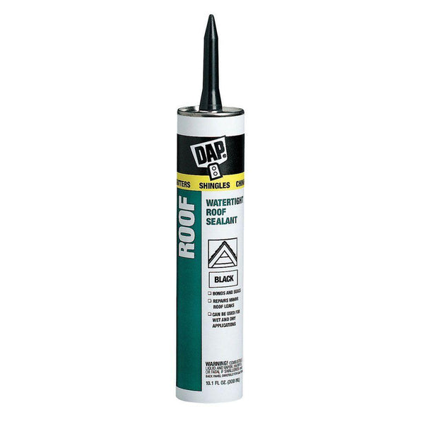 DAP Roof Waterproof Asphalt Filler & Sealant Black 10.1 oz - 18268